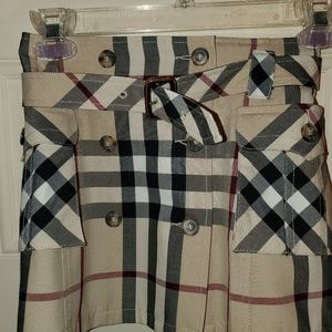 Authentic Burberry kids skirt